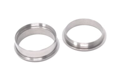 H3 - 2 part Bevelled titanium ring core ring turning ring makers jewellery