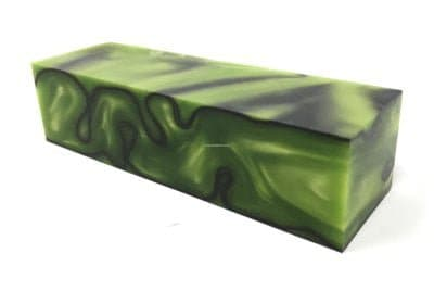 Kirinite Toxic Green - Large Project Acrylic Blanks