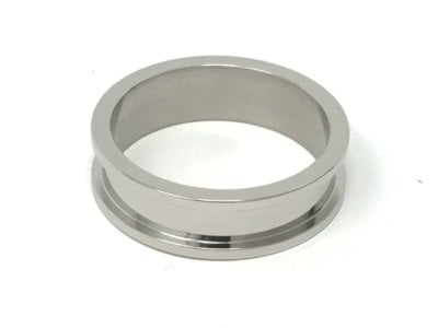 2 piece 8mm Stainless Steel ring core